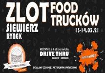 ZLOT FOOD TRUCKÓW NA RYNKU W SIEWIERZU - WEEKEND 13 I 14 MARCA